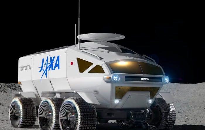 Toyota creează un Lunar Cruiser pentru agenția japoneză de explorare spațială